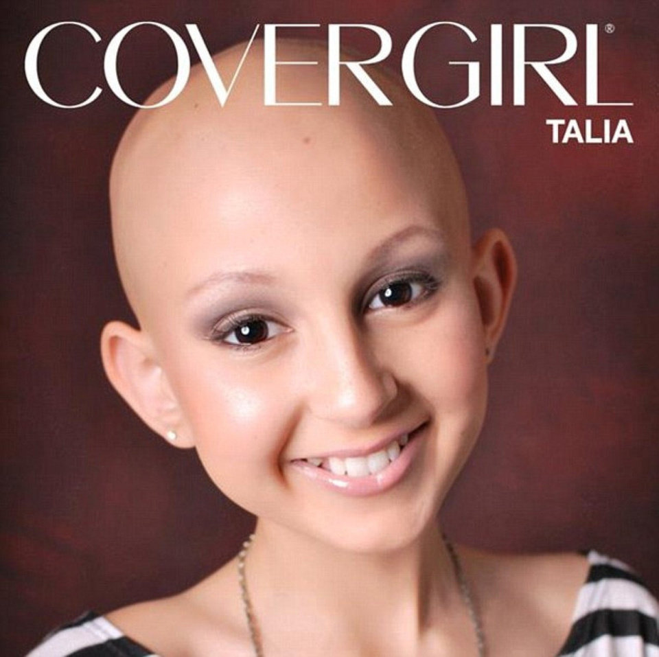 Photo - Talia Joy Castellano was named an honorary Covergirl in September when she appeared on