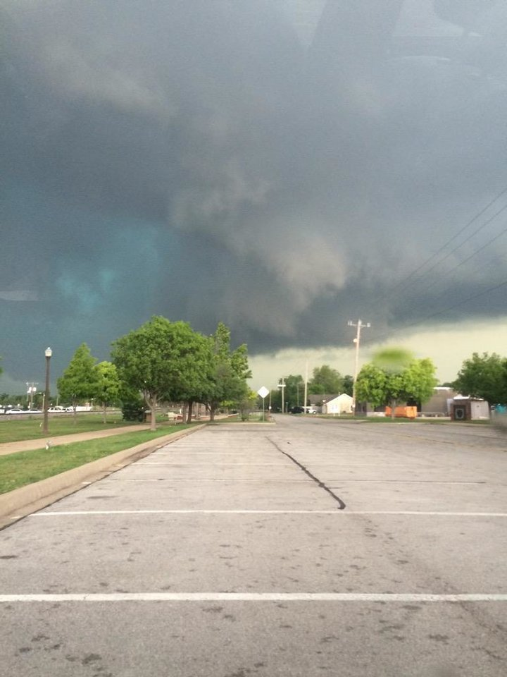 Photo - Norman, Oklahoma -- Photo via jourdan @wigglejacks on Twitter