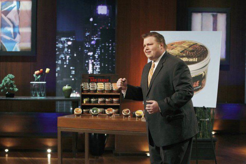 "Photo -  Johnson Bailey on ""Shark Tank""- Provided Photo"