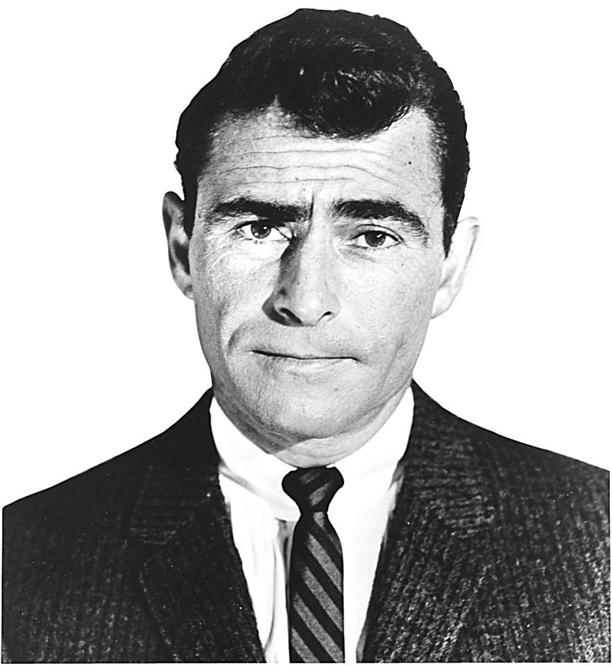 Photo - Rod Serling, host of classic TV show