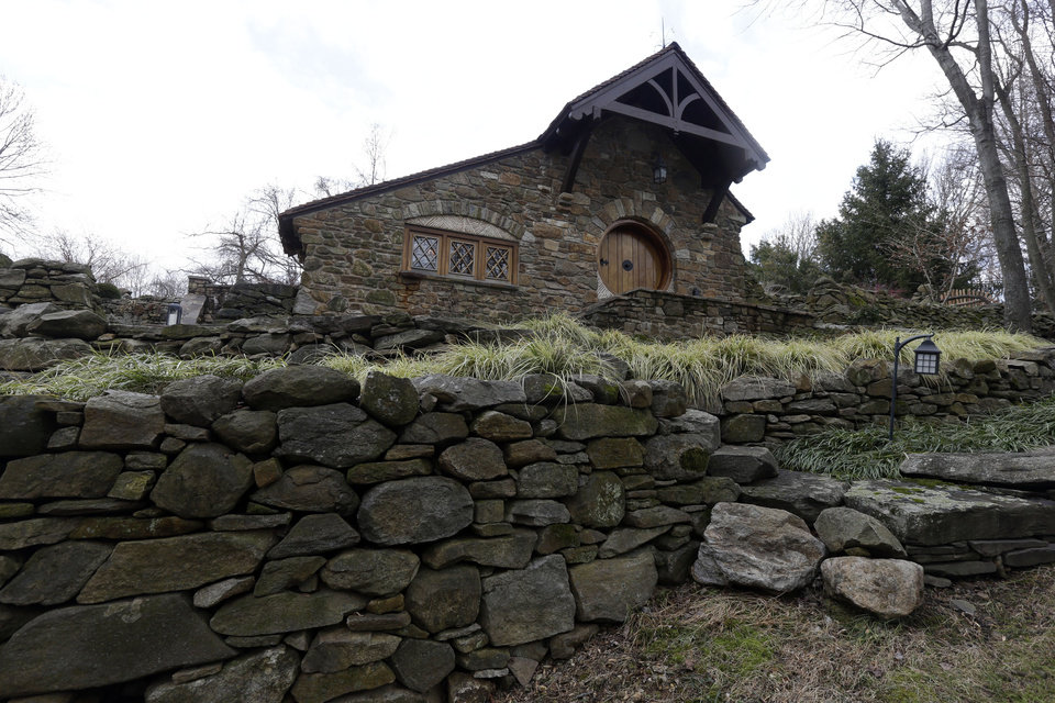 "Shown is an exterior view of the ""Hobbit House"" Tuesday, Dec. 11, 2012, in Chester County, near Philadelphia. Architect Peter Archer has designed a ""Hobbit House"" containing a world-class collection of J.R.R. Tolkien manuscripts and memorabilia. AP photo"