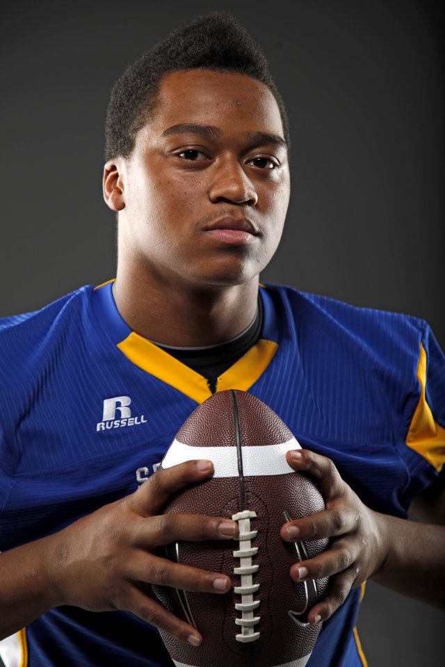 All-State football player Jesse Vester, of Stillwater, poses for a photo in Oklahoma CIty, Wednesday, Dec. 14, 2011. Photo by Bryan Terry, The Oklahoman
