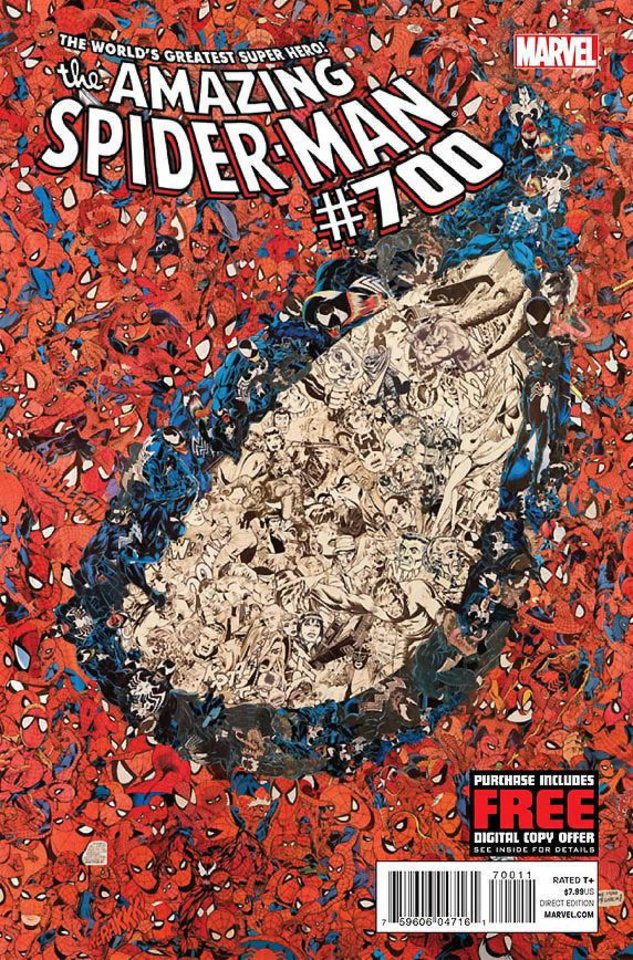 """""""Amazing Spider-Man"""" #700. Marvel Comics. <strong></strong>"""
