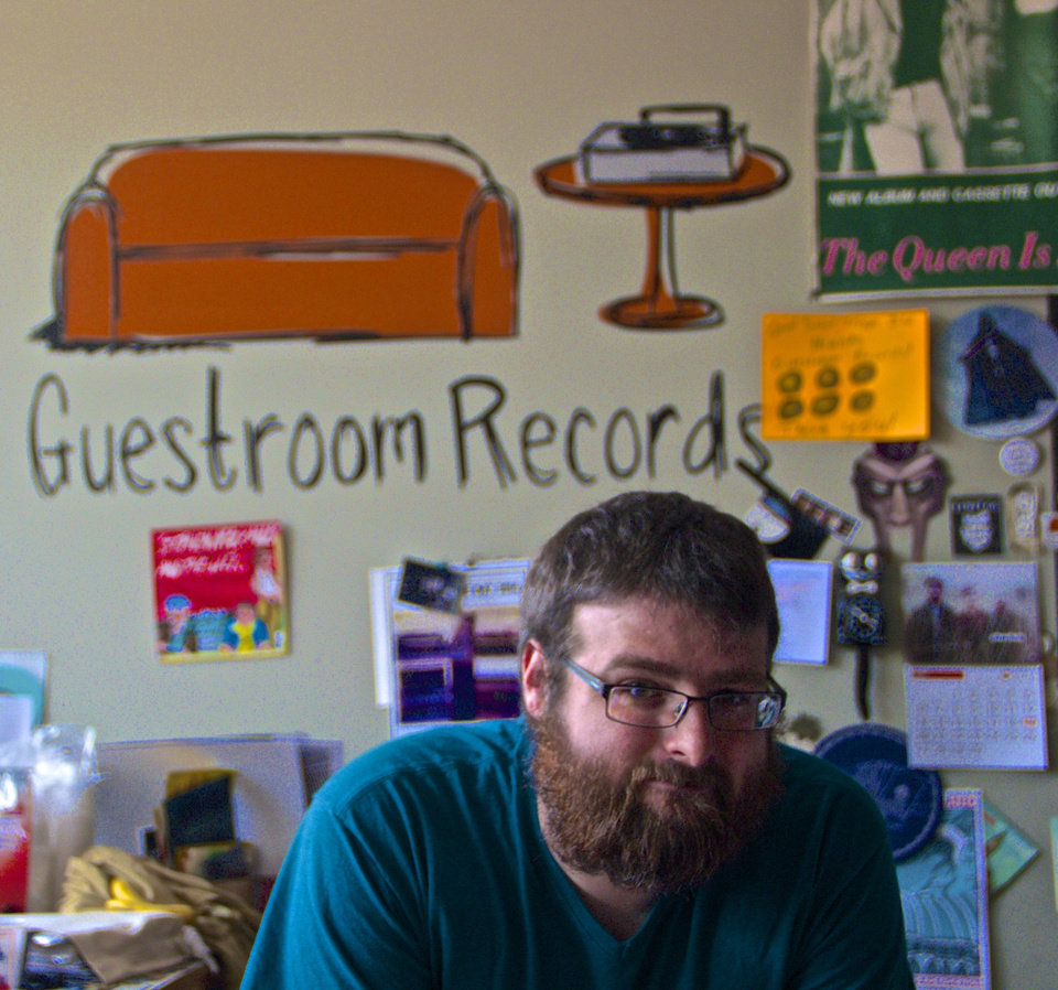 Photo -       Guestroom Records - Photo by NewsOK contributor Dianna Wilson