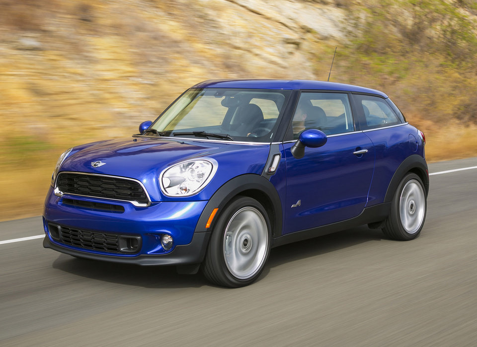 Photo - This February 2013 image made available by BMW shows the Mini Cooper S Paceman ALL4. (AP Photo/BMW)