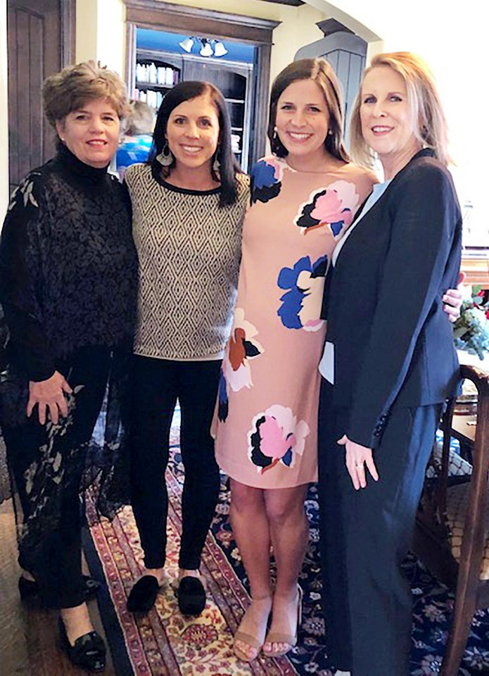 Photo - Janie Carter, Anne Bloomquist, Katie Schmidt, Candy Schmidt. PHOTO PROVIDED