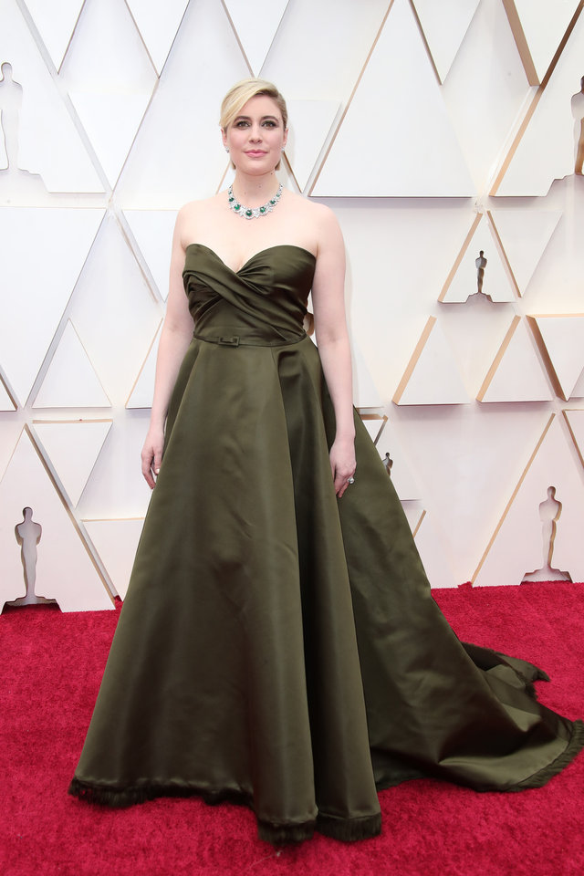 Photo - Feb 9, 2020; Los Angeles, CA, USA;  Greta Gerwig arrives at the 92nd Academy Awards at Dolby Theatre. Mandatory Credit: Dan MacMedan-USA TODAY