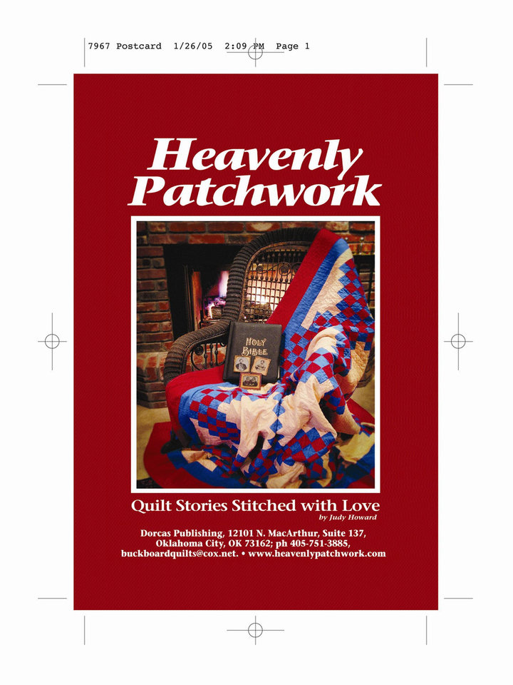 """Heavenly Patchwork"" Centennial Books<br/><b>Community Photo By:</b> Fred Welch<br/><b>Submitted By:</b> Judy,"