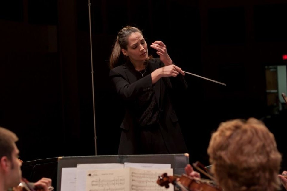 Photo - Michelle Merrill will be the guest conductor at the Oklahoma City Philharmonic's Nov. 18 Classics concert. Photo provided