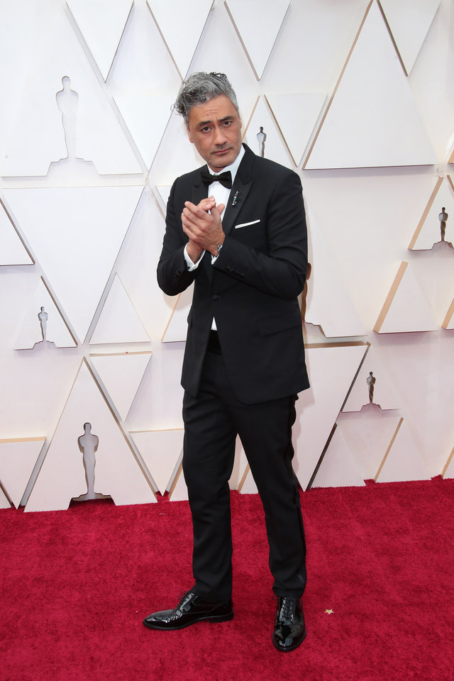 Photo - Feb 9, 2020; Los Angeles, CA, USA;  Taika Waititi arrives at the 92nd Academy Awards at Dolby Theatre. Mandatory Credit: Dan MacMedan-USA TODAY