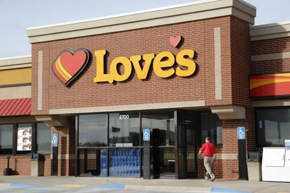 Photo -  Love's Travel Stops announced it would pay employees to receive the COVID-19 vaccine. [THE OKLAHOMAN ARCHIVES]