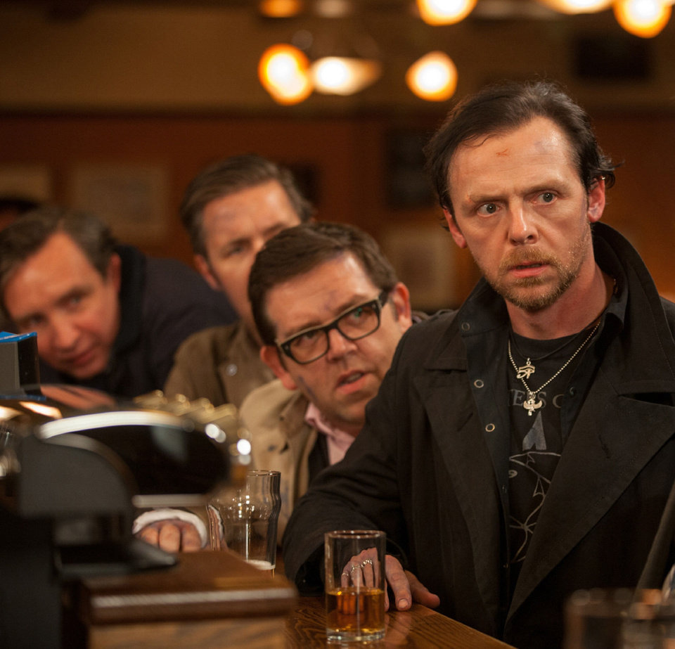 Photo - From left, Eddie Marsan as Peter, Paddy Considine as Steven, Nick Frost as Andy, and Simon Pegg as Gary in Edgar Wright's