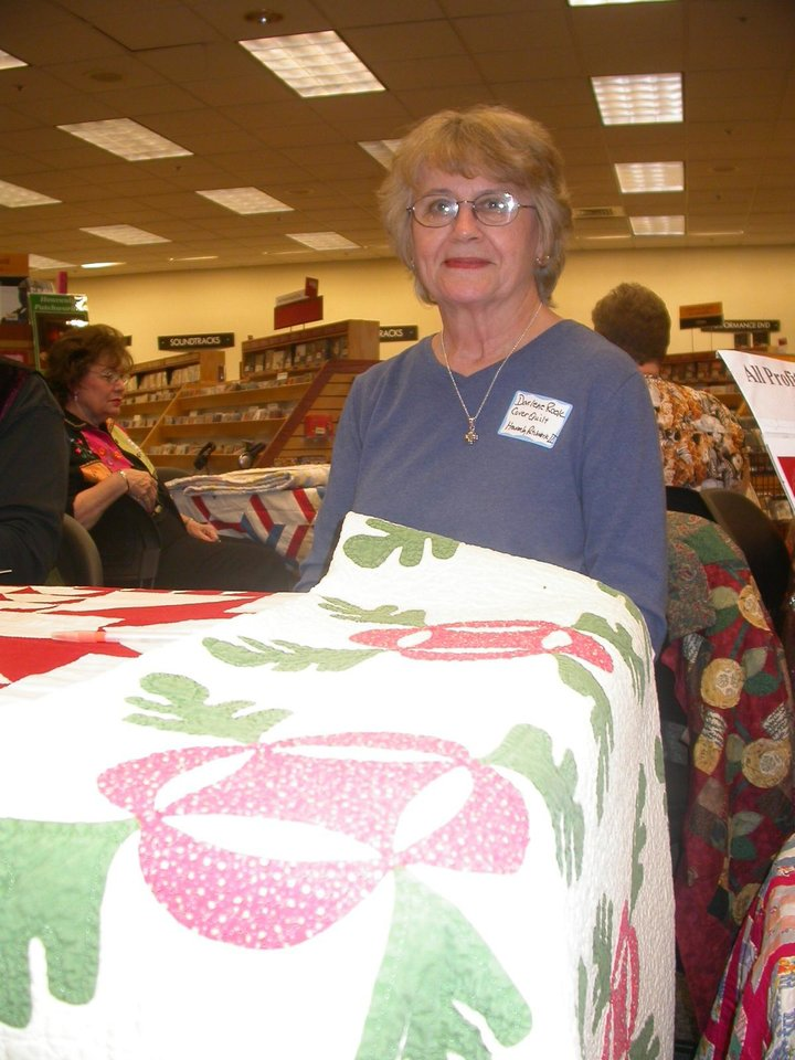 "Midwest City Story Teller Darlene Rook featured in ""Heavenly Patchwork II--Quilt Stories to Warm Your Heart"" by Judy Howard<br/><b>Community Photo By:</b> Judy Howard<br/><b>Submitted By:</b> Judy,"