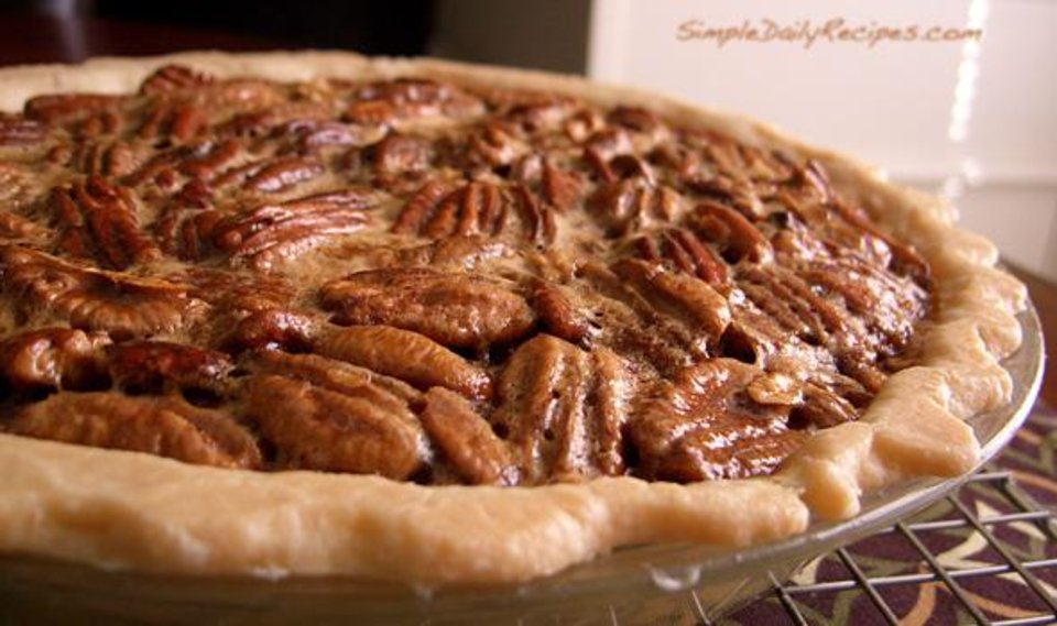 Mmm, pie. But what's with the junebugs on top? Did someone run out of crust?