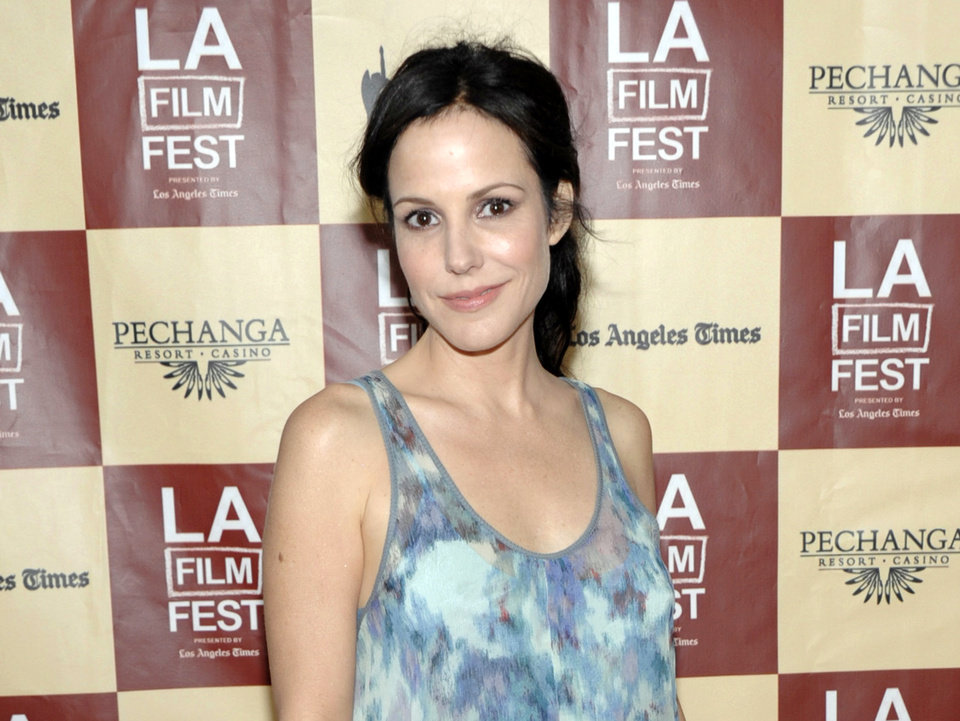"FILE - This June 21, 2011 file photo shows actress Mary Louise Parker at the premiere of the feature film ""A Better Life"" in Los Angeles. Parker is coming back to Broadway in the world premiere of Sharr White's �The Snow Geese.� The Manhattan Theatre Club and MCC Theater said Wednesday, April 10, 2013, that previews will begin Oct. 1 and the play will open Oct. 24 at the Samuel J. Friedman Theatre. Daniel Sullivan will direct. (AP Photo/Dan Steinberg, file)"