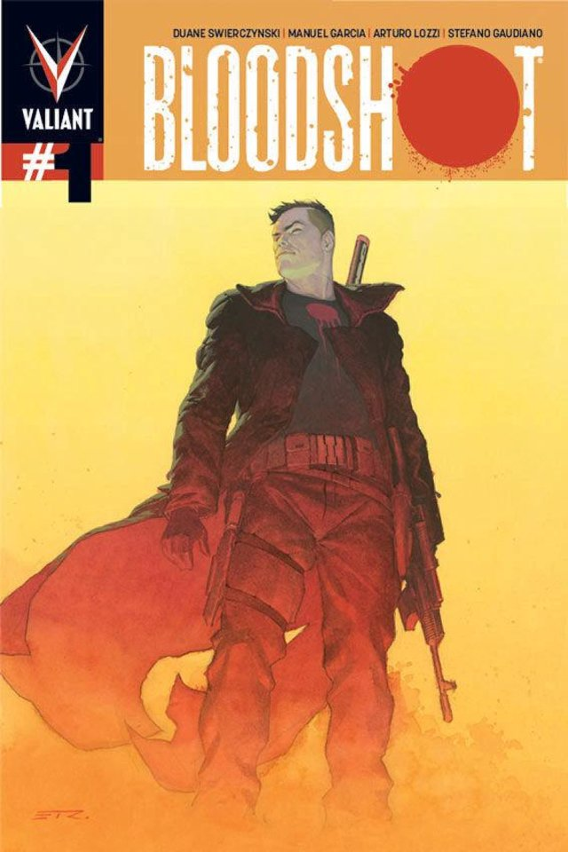 Esad Ribic�s variant cover for �Bloodshot� No. 1, which went on sale this week. Valiant Comics IMAGE