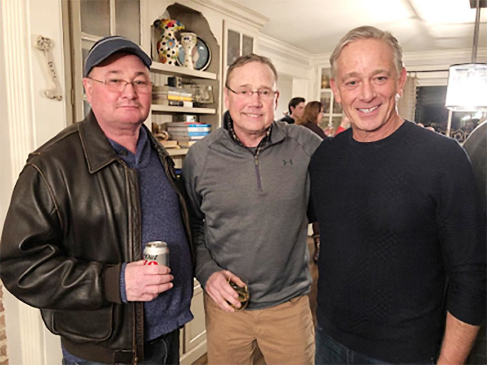 Photo - Capt. (ret.) Bo Coshell, Bill Citty, Dr. Eli Resher. PHOTO PROVIDED