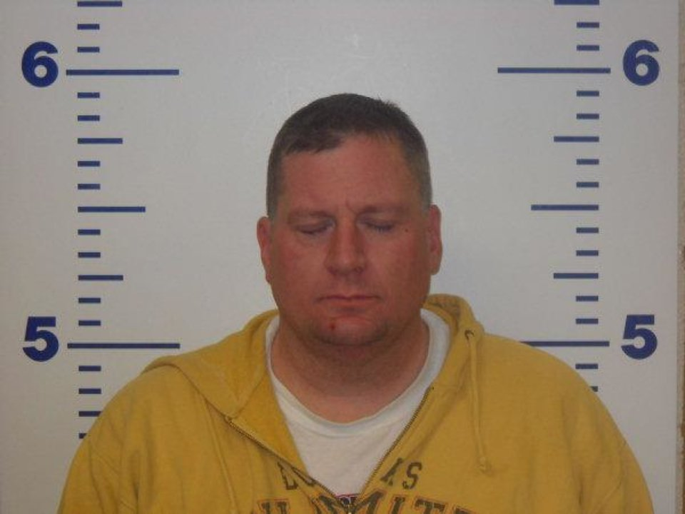 Photo - Oklahoma City Police Sgt. Michael Rhea Dawson   - Logan County jail
