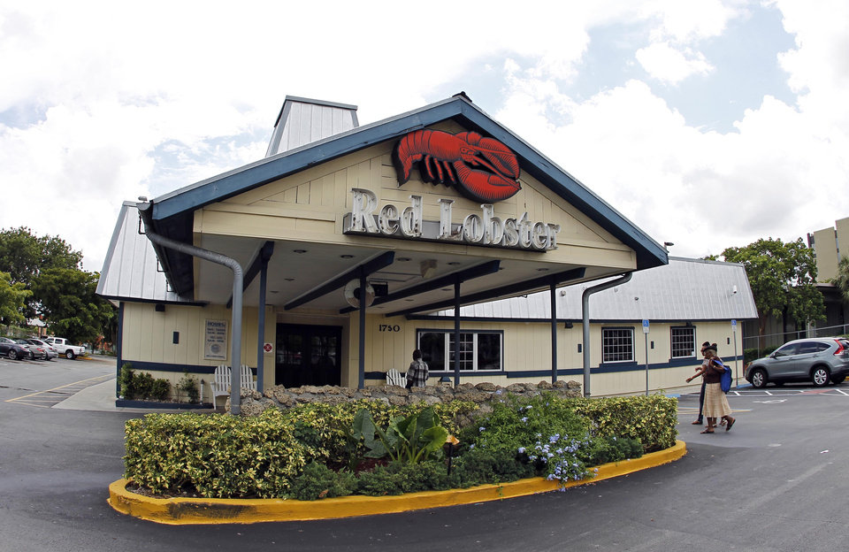 red lobster plans to go back into its shell.