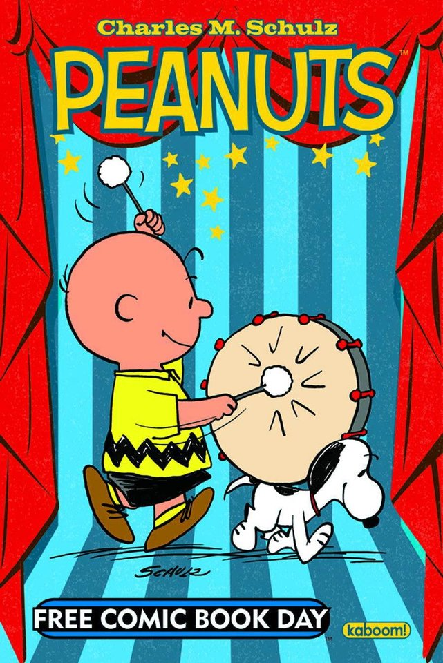 """Peanuts"" is one of the comics available for Free Comic Book Day.  Boom! Studios. <strong></strong>"