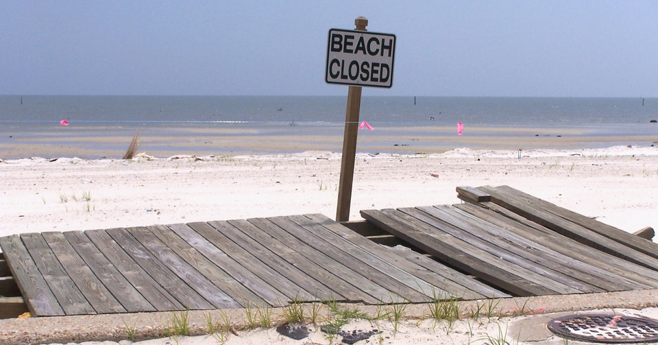Beach in Gulfport,Mississippi still closed one year after Hurricane Katrina.<br/><b>Community Photo By:</b> Cindi Tennison<br/><b>Submitted By:</b> Cindi , Bethany