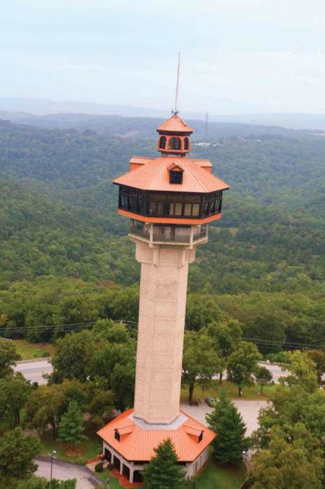 Photo - Shepherd of the Hills Inspiration Tower in Branson, Mo. Photo courtesy of the Branson/Lakes Area Convention and Visitors Bureau