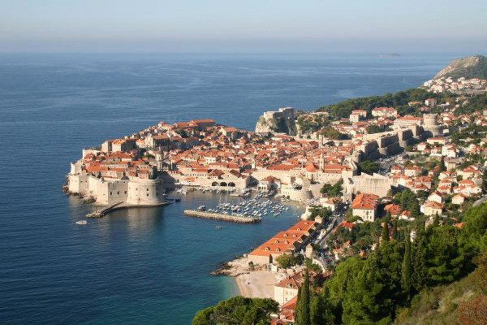 Photo - Croatia's scenic Dubrovnik, with its orange-tile roofs and Adriatic Sea location, is becoming a tourist destination again after being besieged by war less than 20 years ago.  PHOTO PROVIDED BY STOCK.XCHNG.