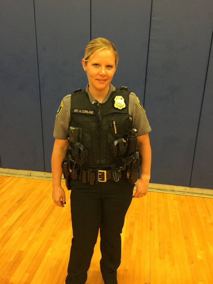 Photo - Some Oklahoma City officers will be wearing a new vest as part of a test program, Oklahoma City Police Department Officials said.