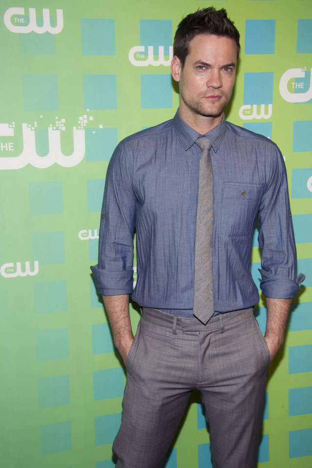 Photo -   Shane West attends The CW Television Network's Upfront 2012 in New York, Thursday, May 17, 2012. (AP Photo/Charles Sykes)
