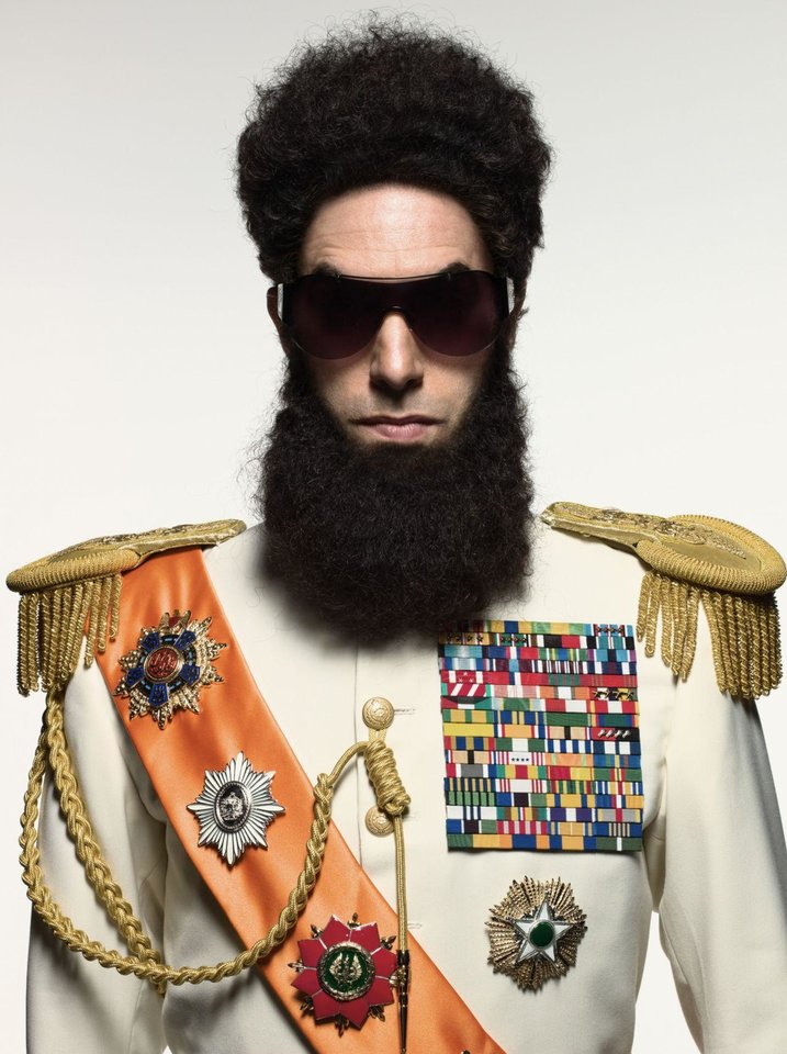 "Sacha Baron Cohen co-wrote and stars in ""The Dictator."" Paramount Pictures photo <strong></strong>"