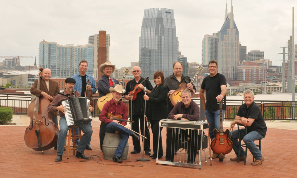 Photo - The Western swing band The Time Jumpers, including member Vince Gill, got a Best Country Album nod for its self-titled studio debut. PHOTO PROVIDED