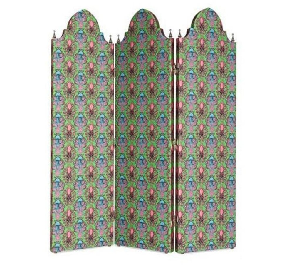 Photo - A folding screen from the new Gucci home line. [Photo Provided]