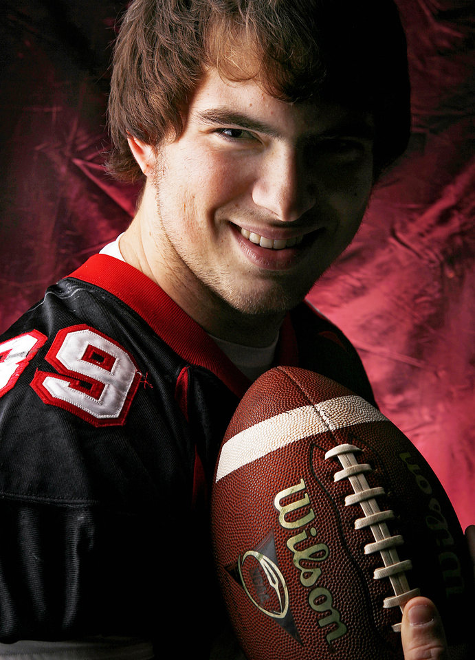 Westmoore High School's Joey Fowler All Big City Defensive Lineman. 