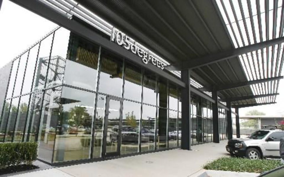 105degrees Cafe, 5820 Classen Blvd., opens offers its first dinner service at 5 p.m. Saturday.
