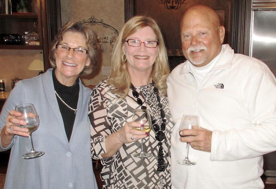 Marion Vaughn, Ann Osborne, Bill Spielberger.  PHOTOS PROVIDED