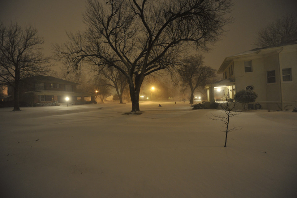 Photo - Photo from El Reno at 4:45 a.m.