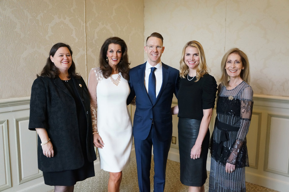 Photo - Shannon Evers, Linda Slawson, Sam Presti, Shannon Presti, Amy Cottrell. PHOTO PROVIDED