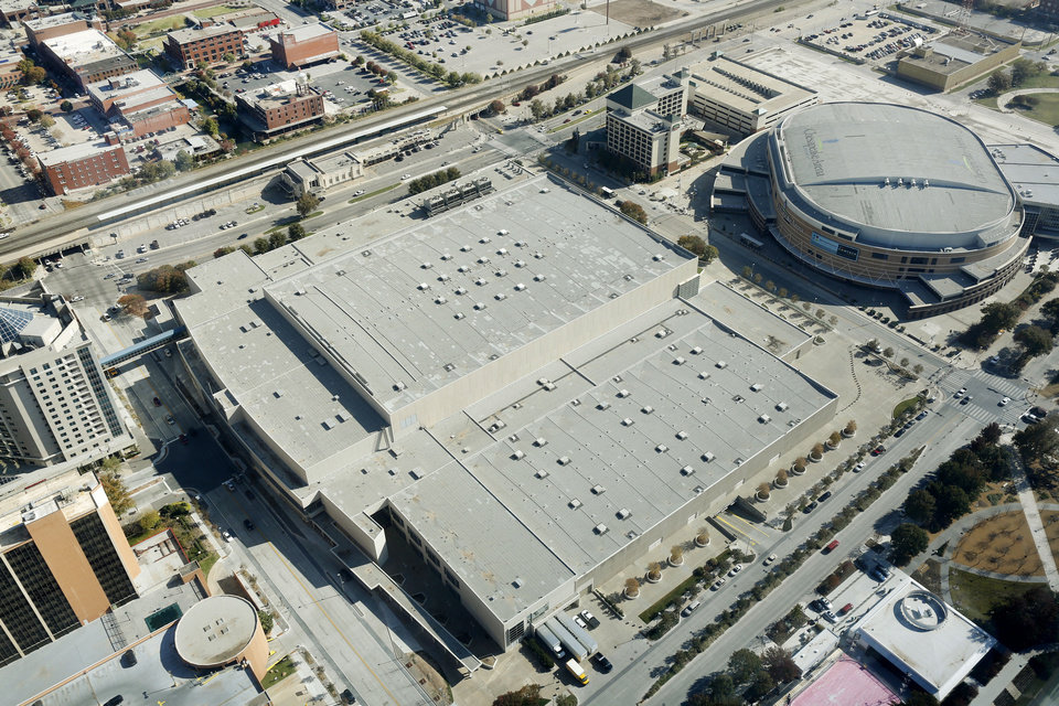 Photo - The Cox Convention Center is in downtown Oklahoma City.Photo by Steve Gooch, The Oklahoman