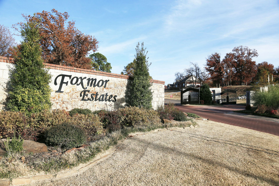 Foxmor Estates, a neighborhood under development by Tom Jordan, is southeast of SE 89 and Hiwassee Road in southeast Oklahoma City.  Photos by NATE BILLINGS, THE OKLAHOMAN