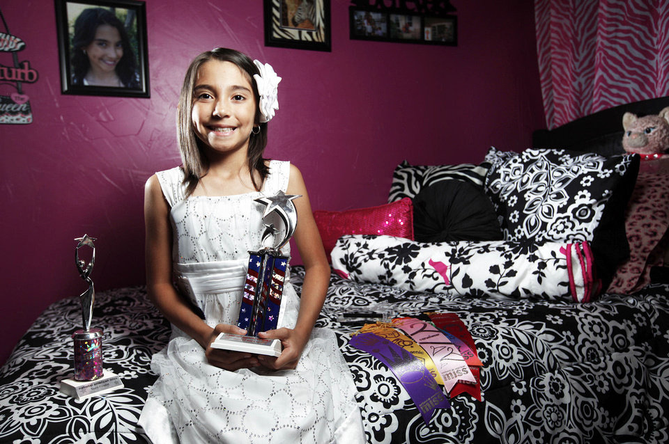 Photo - Natalie Hernandez poses for a photo at her home in Oklahoma City.  PHOTO BY Sarah Phipps, The Oklahoman