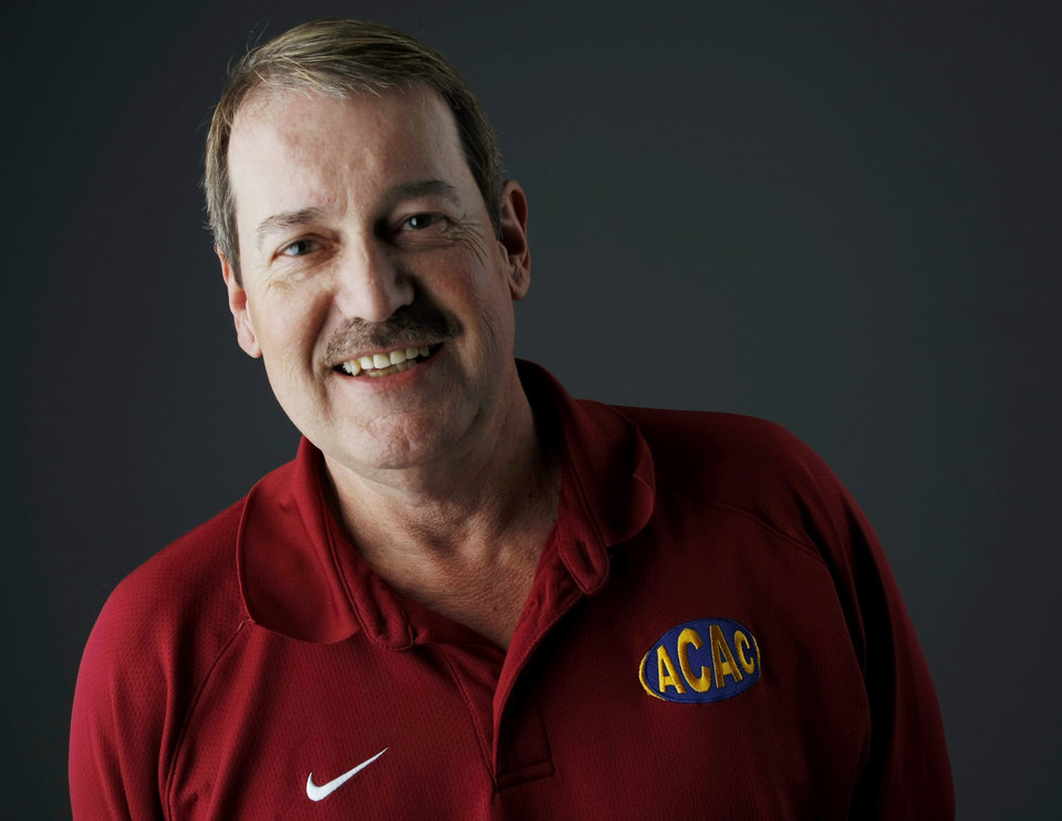 Phil Ingersoll, athletic director for Oklahoma City Public Schools, poses for a photo in the OPUBCO studio in Oklahoma City, Thursday, January 13, 2011. Photo by Nate Billings, The Oklahoman ORG XMIT: KOD