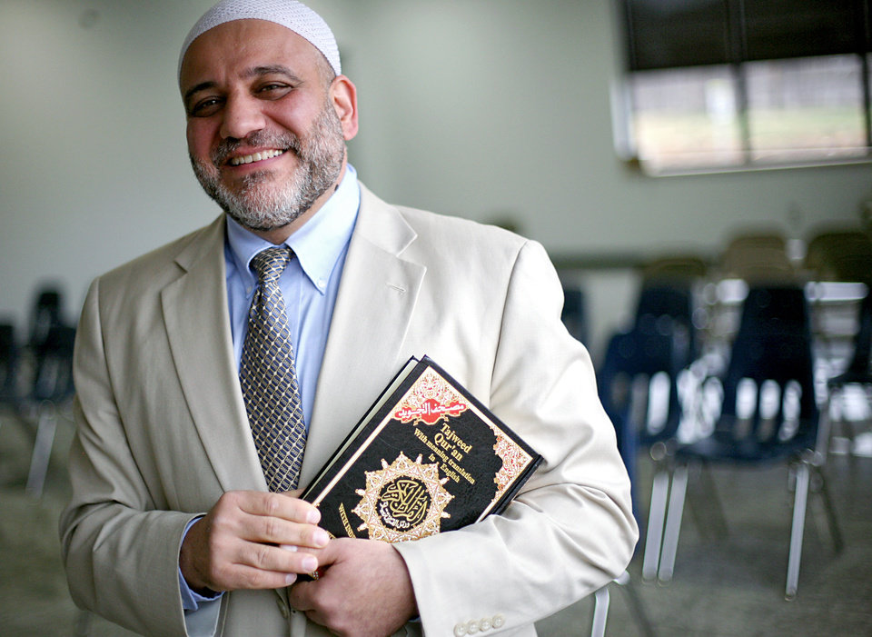 Photo -  Imad Enchassi is imam and founder of the Islamic Society of Greater Oklahoma City. Oklahoman Archive Photo   John Clanton -  The Oklahoman