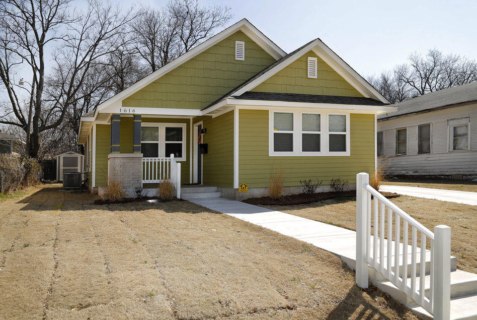 Photo - Positively Paseo finished and sold this house at 1616 N McKinley last year.  Jim Beckel -