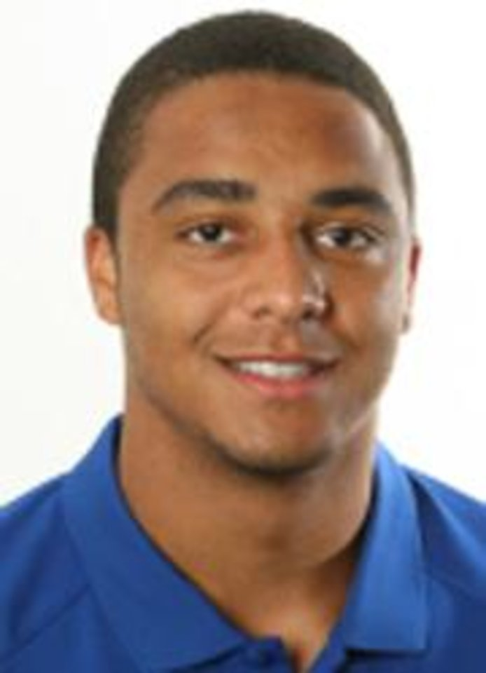Photo - James Holt, University of Kansas college football player		ORG XMIT: 0807261935309999