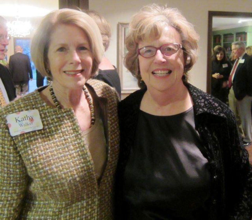 Kathy Walker and Helen Ford Wallace.