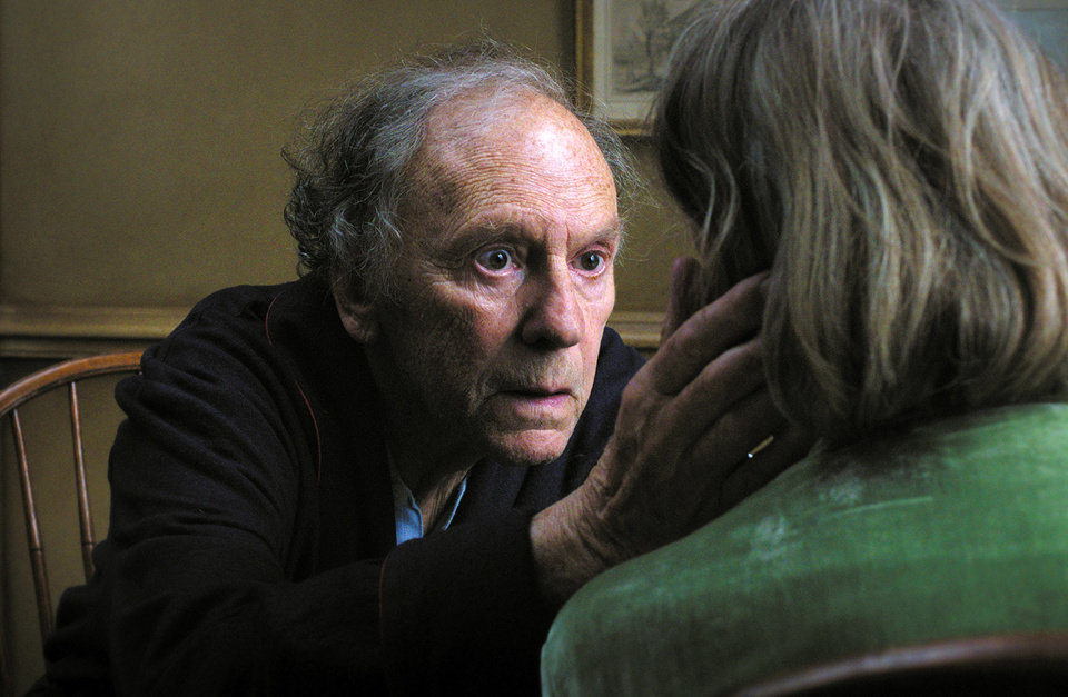 Photo - FILE - This publicity film image released by Sony Pictures Classics shows Jean-Louis Trintignant in a scene from the Austrian film,