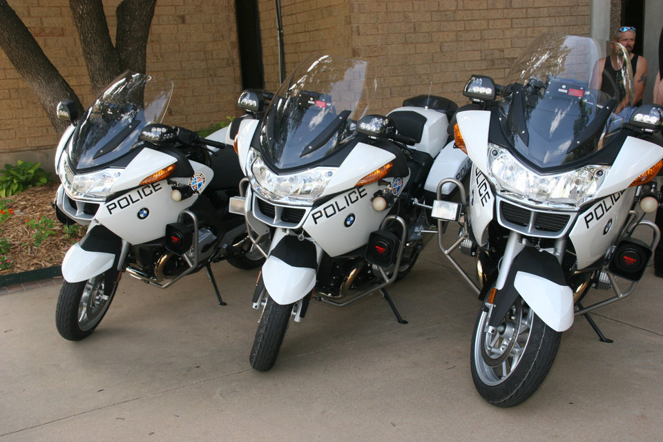 BMW Police Motorcycle<br/><b>Community Photo By:</b> T.I. Megan Urbanczyk<br/><b>Submitted By:</b> Robert, Midwest City