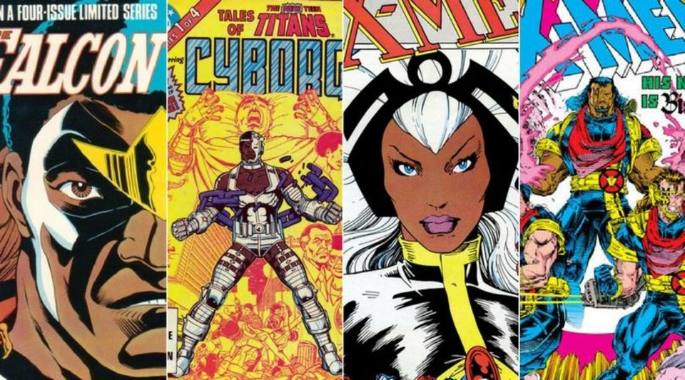 Photo - We're discussing some of the comic book realms most celebrated black superheroes in the latest Infinite Danger Room podcast.