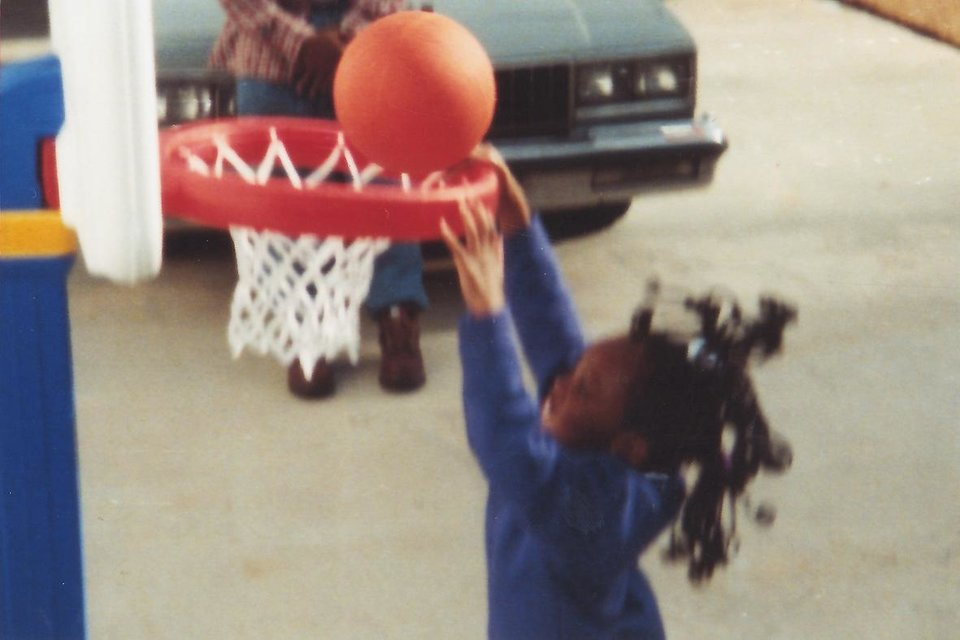 Courtney Walker's basketball skills impressed her parents early on. PHOTO PROVIDED