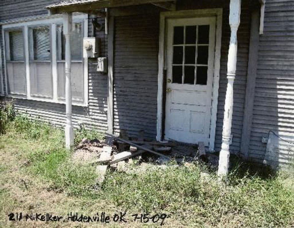 Boone Pickens' grandmother's house at 211 N. Keller in Holdenville. Photo provided by Brent Gooden.